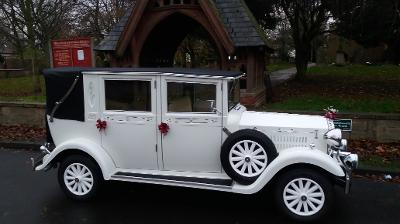 vintage wedding car hire Stockton. Limousine hire Hartlepool, Middlesbrough and the north east.