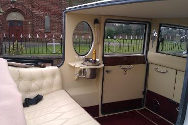 wedding car hire Hartlepool, vintage style cars and limousine hire